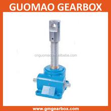 SWL series mechanical worm gear&shaft acme screw selflocking adjustable scaffolding u head jack
