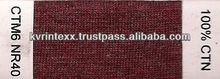 100% viscose yarn(shadeCTM6-NR40)
