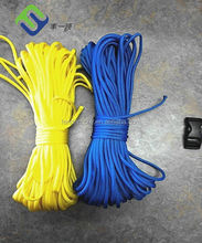Color nylon rope manufacturer provide 2 inch nylon rope