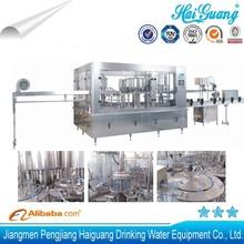 Guangdong surtidor de la fábrica de purificación de agua y embotellado planta