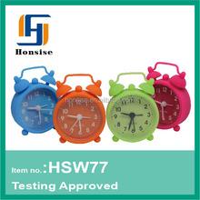 2 Inches Silicone mini alarm clock