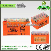 Long life Sealed Maintenance Free GEL rechargeable Motorcycle Battery 12v 7ah