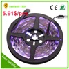 sunland best copper material led strip lighting12v 5a power supply with rgb color