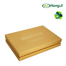 Hot Stemping Gold Luxury Lid Separated Paper Cardboard Gift Box
