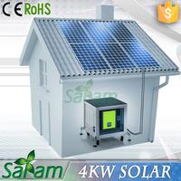 Powerful solar energy 4kw home solar system machine