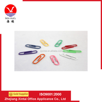 Office of nickel gold colored plastic or metal office file clip