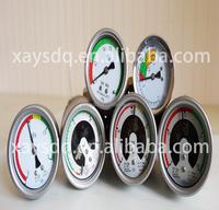 2014 new design Magnetic high precision SF6 caterpillar pressure gauge