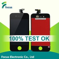 High quality lcd for iphone 4 screen assembly, for iphone 4 assembly