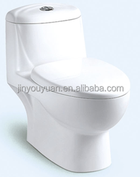Y082 Siphonic One-piece Closet; WC Chemical Toilet for Home China Supplier