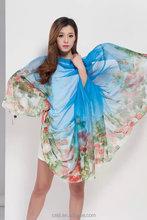 Fashion Batik Silk Scarf Malaysia