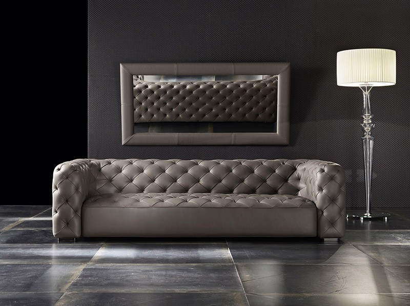 terbaru desain imperial berumbai italia kulit asli sofa