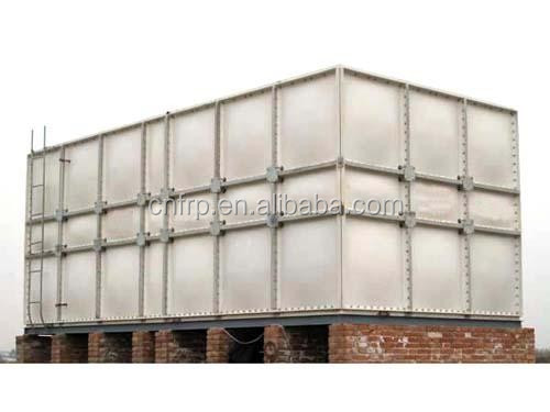 FRP panels assemble water tank for building fire fighting water ...