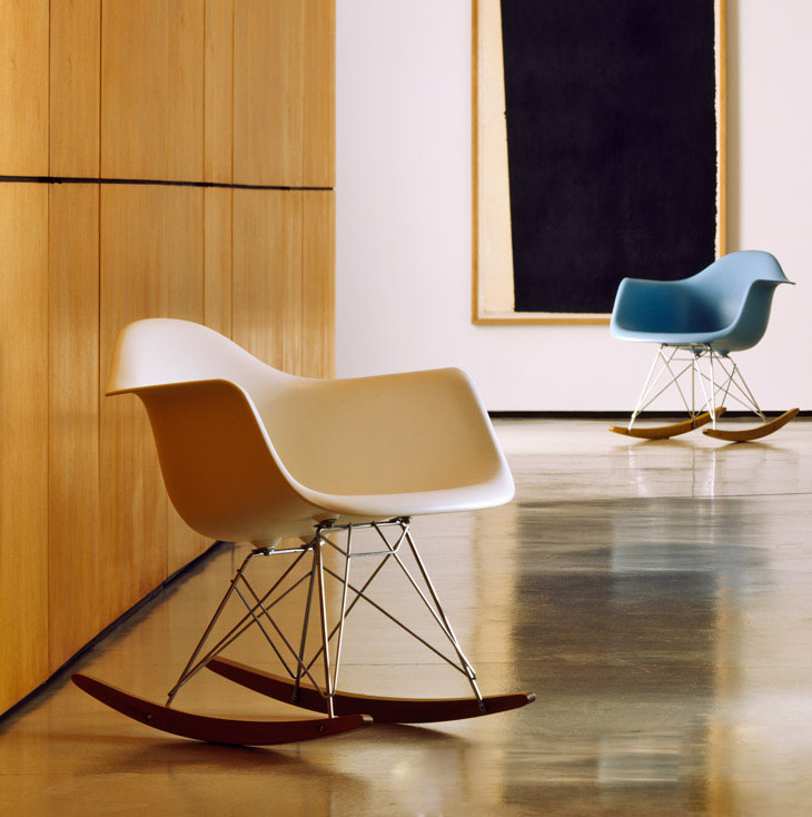 Most fortable Modern Rocking Chairs Pp Shell With Wood