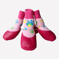 Lanle hot sale waterproof knitting dog socks,pet accessories eco products waterproof,good quality pet products manufacturer