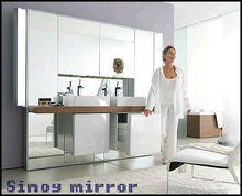 frameless decorative mirror for mirrored furniture