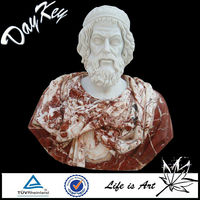 Bust Male Stone Statue For Home