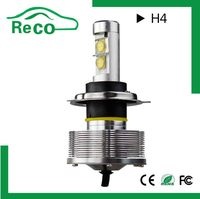 Auto all in one led headlight h4-3,factory price 3200lm h4 led headlight