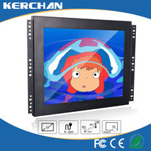 Lcd tft monitor 12v power supply monitor touch screen, 12 inch monitor LCD touch screen, open frame 12 inch touch screen monitor