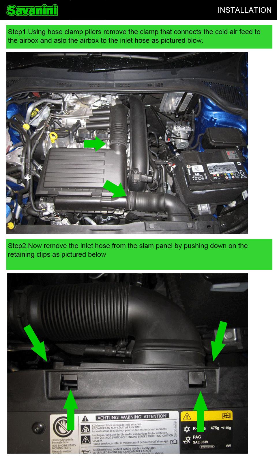 Savanini High-quality Dump Blow Off Valve Kit For Vw Golf Mk7 And ...