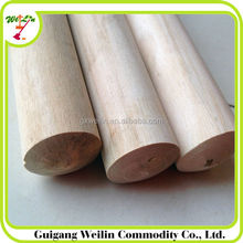 150*2.5 cm varnished and good tough wooden broom handle