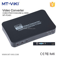 MT-VIKI best quality hd component video and audio to hdmi converter MT-PC401
