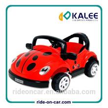 crianças brinquedo carro elétrico rc lady bug forma passeio no carro do rc