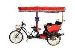 China Supplier Passengers Electric rickshaw three wheel tricycle