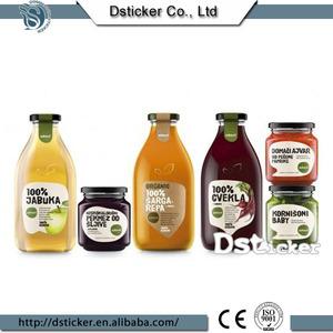 China Maß Removable Vinyl Druck Etiketten für Honig