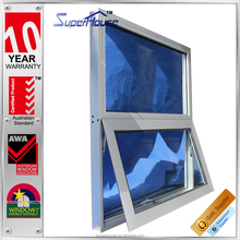 High water tightness AS2047 standard aluminium awning window with 10 years guarantee