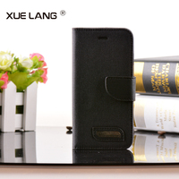 Hot sell Book Style leather cell phone case for Samsung Galaxy S6 Edge