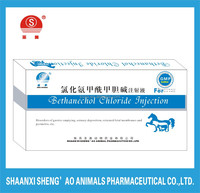 GMP Certificate Bethanechol Chloride Injection/Bethanechol Chloride for Veterinary Medicine/animal drugs