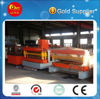 High efficiency best quality roof panel roll forming machinery