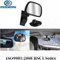 2 in 1 hot sell sucker and clip baby safety mirror