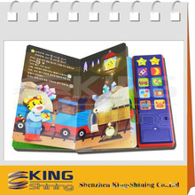 electronic story book with sound pad