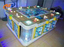 coin operated simulator arcade redemption game machine fishing machine 10 player for adult
