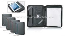 A4 size PU leather folders for iPad