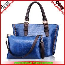 China Supplier alibaba fashion two piece set lady handbag brands manufacturer