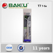 Baku Hot-Selling Multi High Quality Mobile Tools Tweezers Stainless Steel Slant For Cellphone