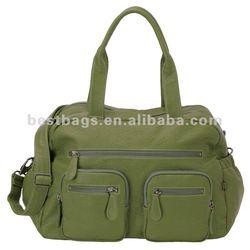 Carry All Diaper Bag Green