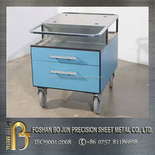 ISO certificated custom silver aluminum briefcase tool box , tool cabinets made in china