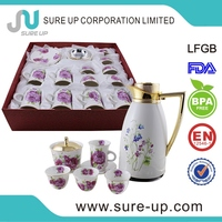 Direct buy china coffee silver plated tea set