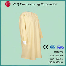 Clean room knitted cuff disposable hospit clothing for patient