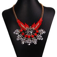 2015 hot sale yiwu fashion costume jewelry shourouk jewelry necklace wholesale