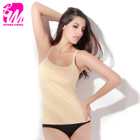 Women's leopard print fleece lined winter thermal Camisole wholesale,OEM Orders are Welcome