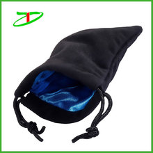 2015 China supplier small cheap promotion velvet pouch wholesale
