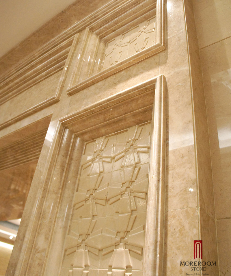 Spanish Beige Marble Tiles Crema Marfil Marble Polished Walling ...