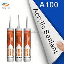 Fire-proof Acrylic Silicone Sealant,water based construction acrylic sealant,FR Intumescent Acrylic Sealant