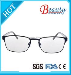 man fashion metal optical frames of full sample