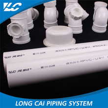 Smooth surface no spot no shrink mark defect pvc pipe,200mm pvc pipe price