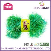 2015 Charmkey polyester monofilament yarn for hand knitting scarf and shawl